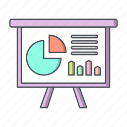business, chart, presentation icon