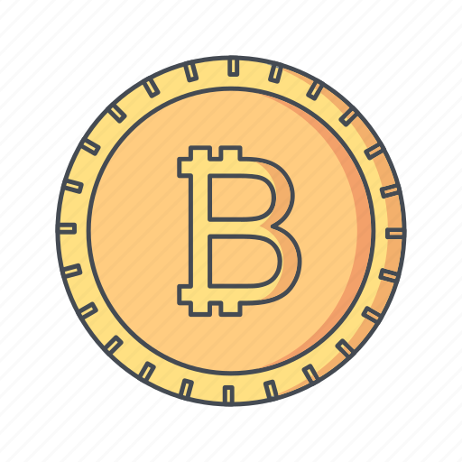 bitcoin, crypto, currency icon