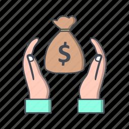 discount, save money, saving icon