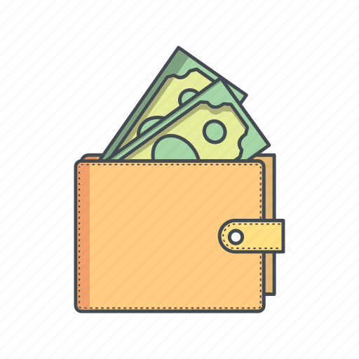 banking, budget, cash, money, salary, wallet icon