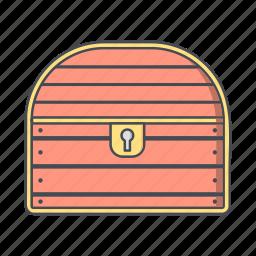 chest, reward, treasure icon