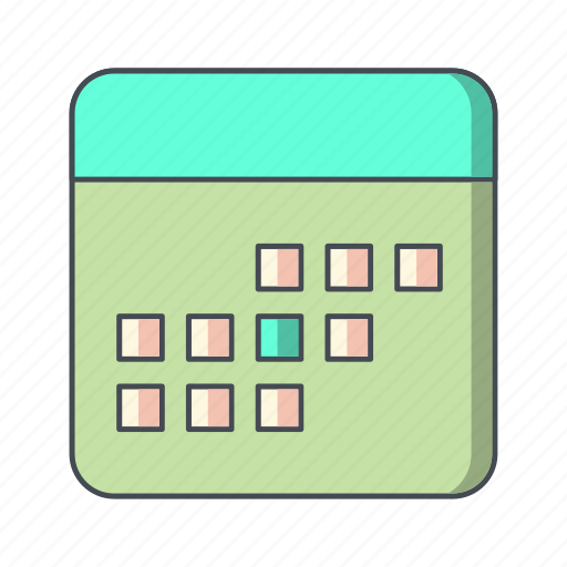 business, calendar, finance, schedule icon