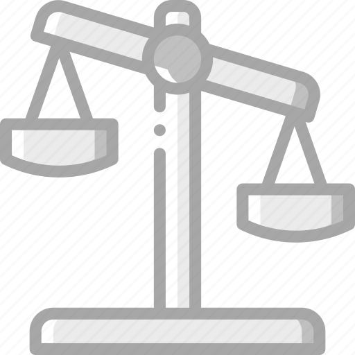 banking, finance, money, scales icon