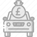 banking, car, finance, money icon