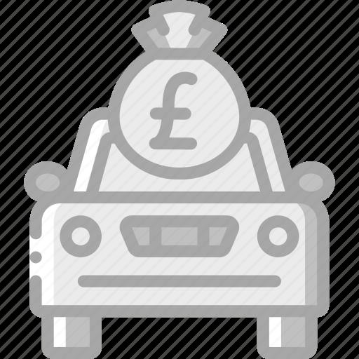 banking, car, finance, money icon