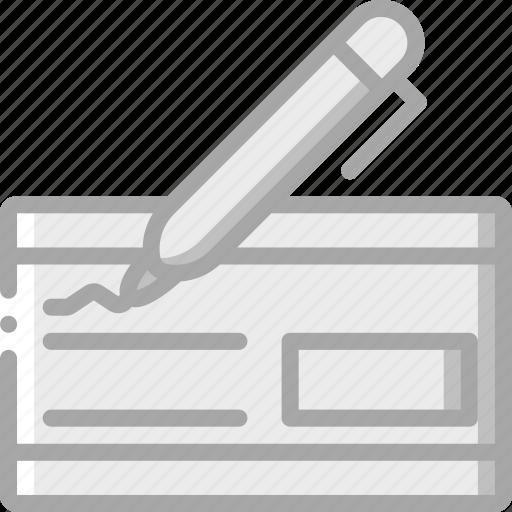 Banking, cheque, finance, money icon - Download on Iconfinder