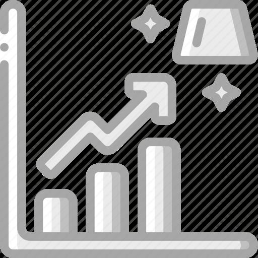 Banking, finance, gold, money, profit, reserve icon - Download on Iconfinder