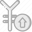 banking, finance, money, rate, yen icon
