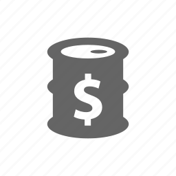 dollar, finance, financial, money, oil icon