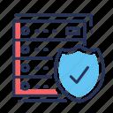 deposit, savings, security boxes, shield icon