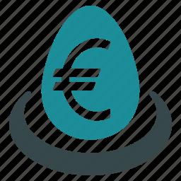balance, banking, deposit, euro, finance, money, savings icon