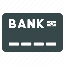 bank, card, credit, finance, money, payment, shopping icon