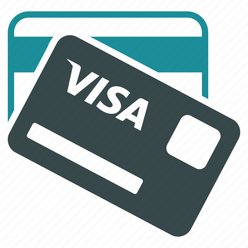banking, card, cards, credit, money, payment, visa icon