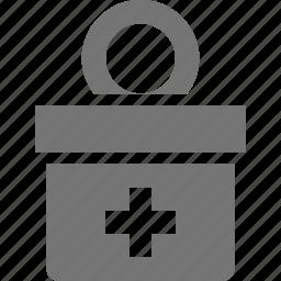 banking, donation icon