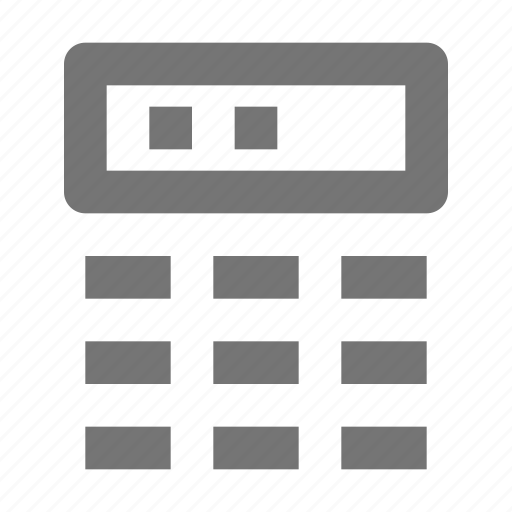 banking, pinpad icon