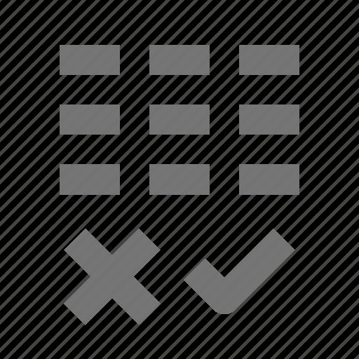 banking, calendar, remove, select icon