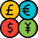 banking, currency, finance, money icon