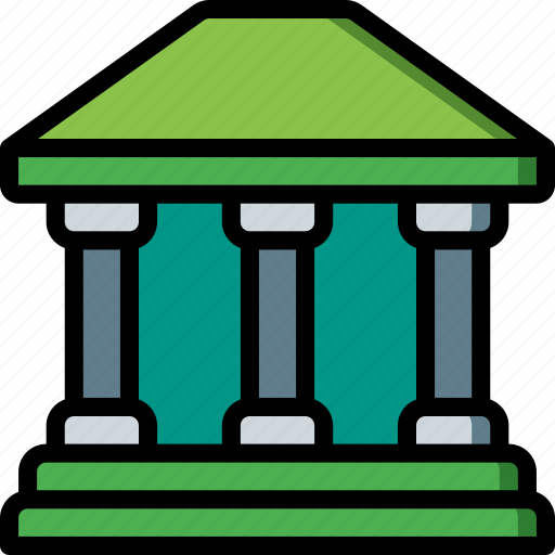 bank, banking, finance, money icon