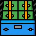 banking, box, deposit, finance, money