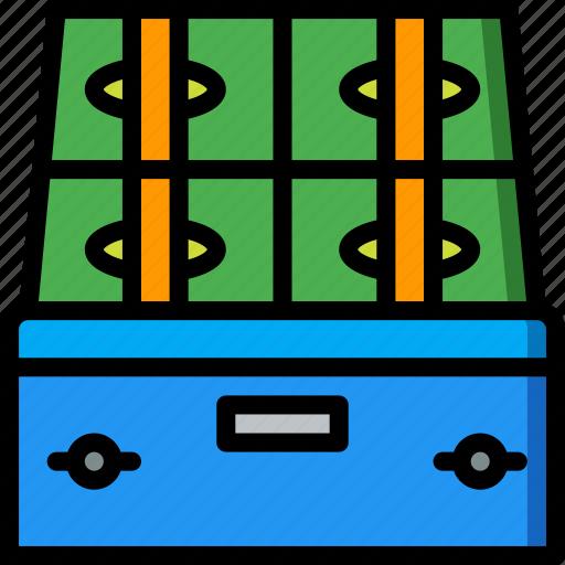 banking, box, deposit, finance, money icon