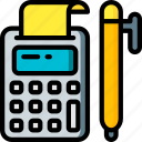accounting, banking, finance, money icon