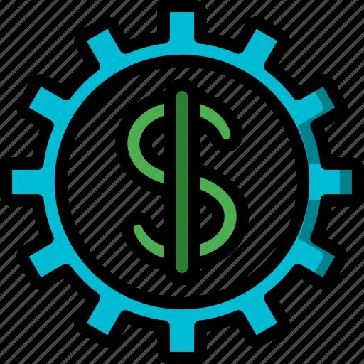 banking, finance, money, options icon
