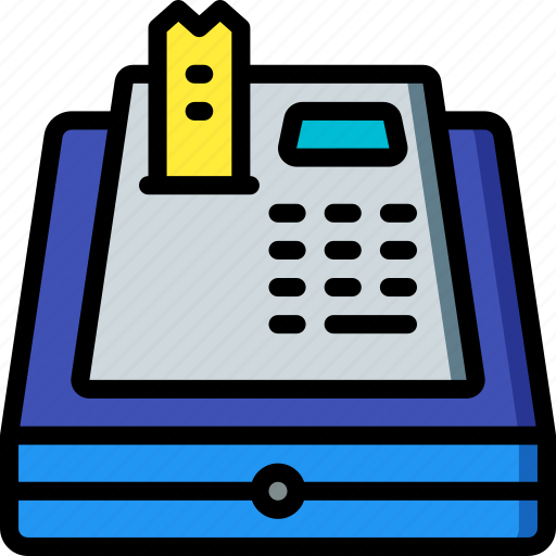 Banking, cash, finance, money, register icon - Download on Iconfinder
