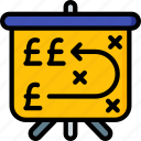 banking, finance, financial, money, strategy icon