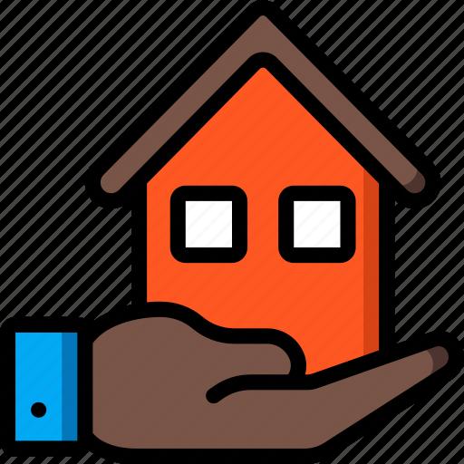 banking, finance, money, mortgage icon