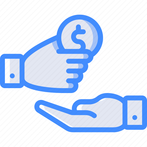 Banking, donation, finance, money icon - Download on Iconfinder