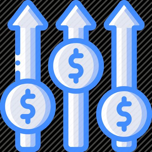 banking, finance, money, rates icon
