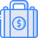 banking, briefcase, finance, money icon