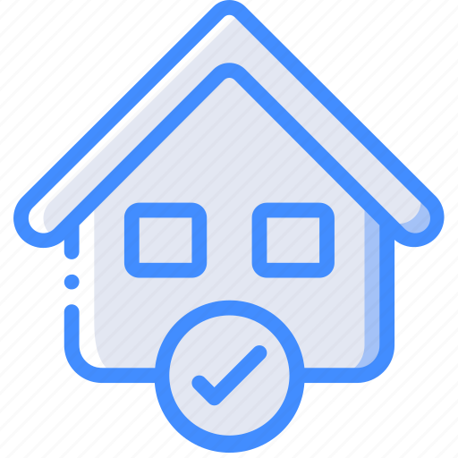 approved, banking, finance, money, mortgage icon