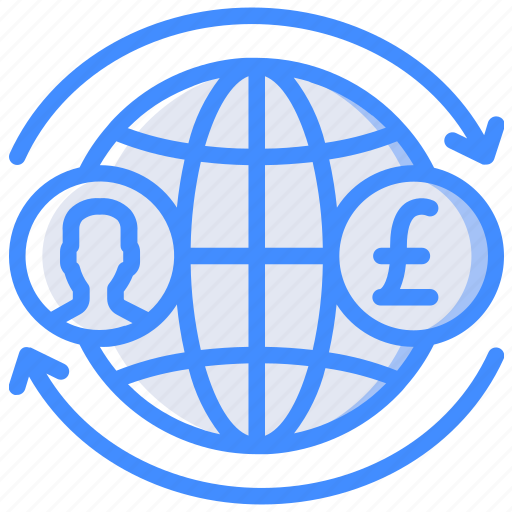 Banking, finance, global, money, transfer icon - Download on Iconfinder