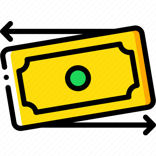 banking, finance, money, payment, transfer icon