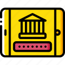 banking, finance, mobile, money icon