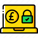 banking, finance, money, payment, secure icon