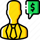 advise, banking, finance, financial, money icon