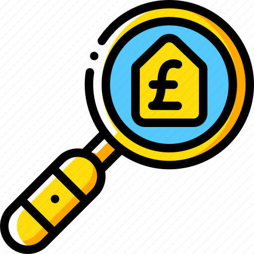 Banking, finance, money, mortgage, search icon - Download on Iconfinder