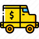 banking, finance, money, truck