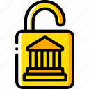 bank, banking, finance, money, secure icon