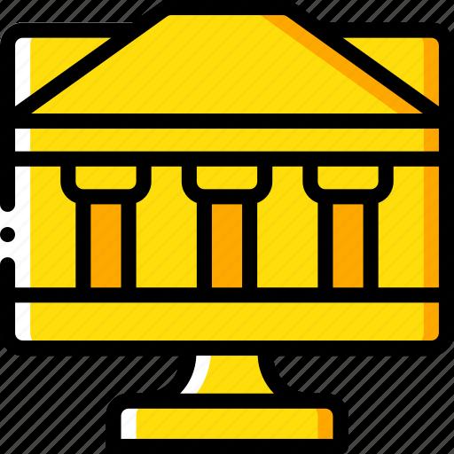 banking, finance, money, online icon