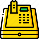 banking, cash, finance, money, register icon