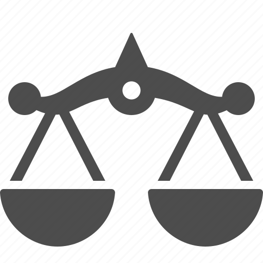 banking, finance, financial, money, scale, scales, weight scale icon