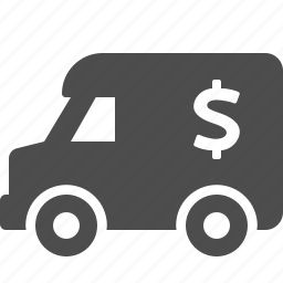 armored, bank, finance, money, truck, van, vehicle icon