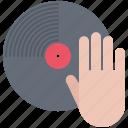 club, dj, hand, music, party, record, vinyl