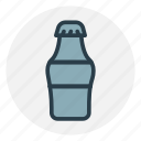 cola, cold drink, drink, drink bottle, soft drink icon icon