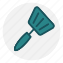 food, fry, grill, kitchen, spatula, utensil icon icon
