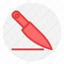 cooking, food, gastronomy, knife icon icon