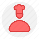 avatar, chef, man, men icon icon
